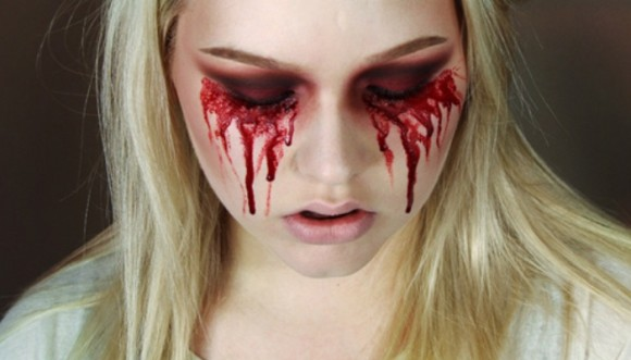 Maquillaje sangriento para Halloween