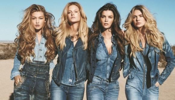 Futbolistas y modelos ponen a prueba nuevos jeans