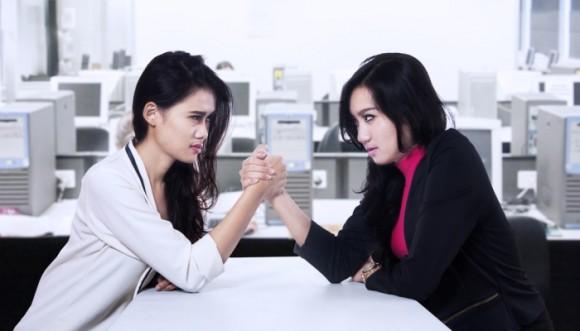 Tus compañeras de trabajo ¿te envidian?