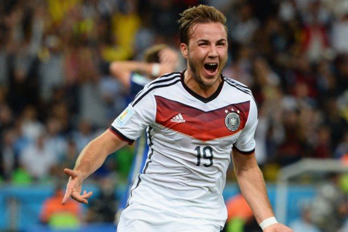 Mario Gu00f6tze - Alemania