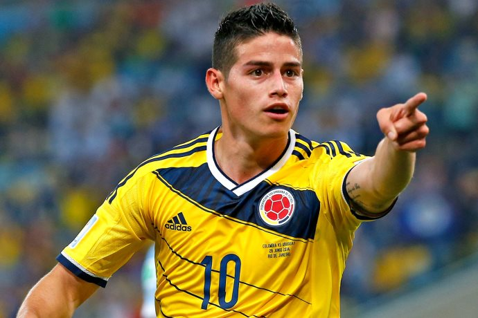[James Rodru00edguez - Colombia