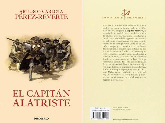 Foto del libro El capitán Alatriste, uno de los 15 libros que debes leer antes de morir