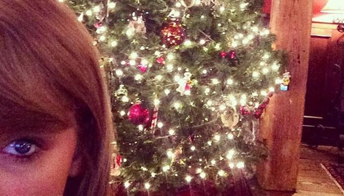 Famosas Navidad taylorswift