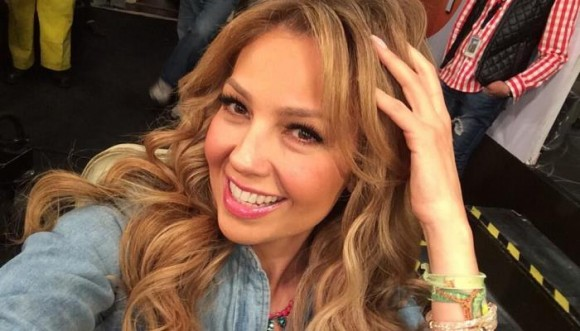 Thalia confiesa como le gustan los besos