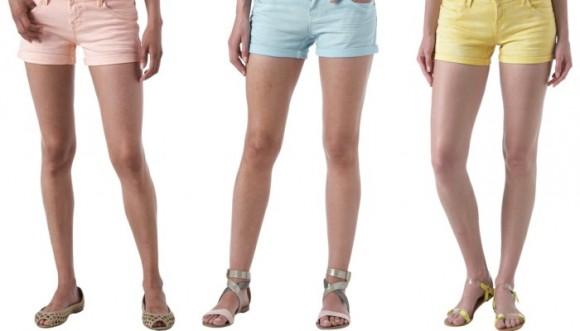 Luce unos shorts con mucho estilo