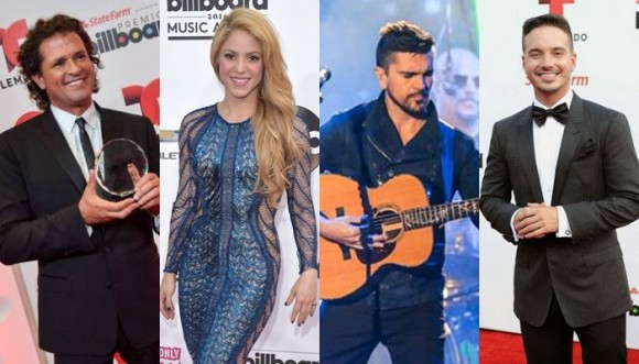 Premios Lo Nuestro 2015 con presencia colombiana