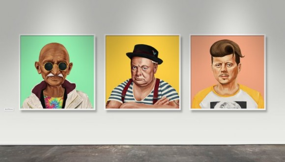 Grandes personajes de la Hipstoria