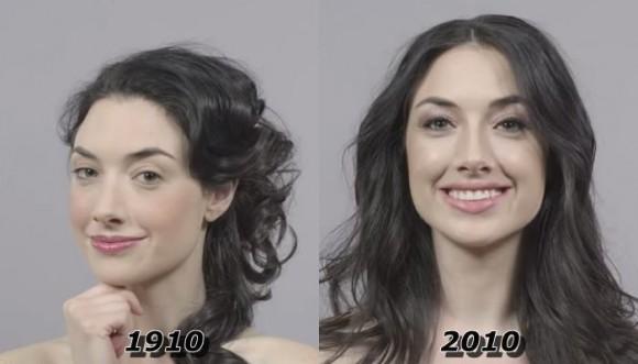 Evolución del peinado en 100 años (Video)