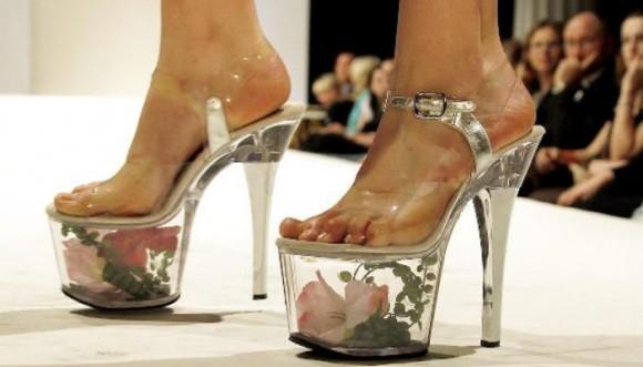 """Zapatillas de """"cristal"""""""