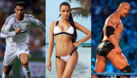 Irina Shayk cambió a Cristiano por La Roca