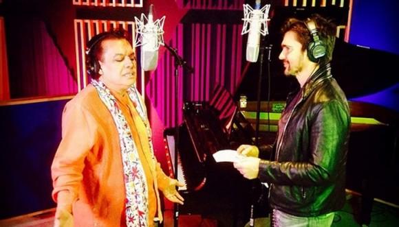 Juanes canta 'Querida' a dúo con Juan Gabriel