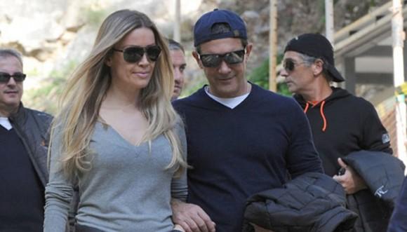 Antonio Banderas lleva a su nueva novia a donde iba con su ex
