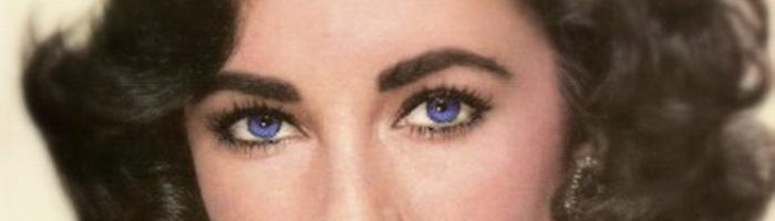 Elizabeth Taylor ojos