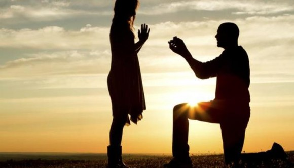 Propuesta de matrimonio que sorprendió en San Valentín