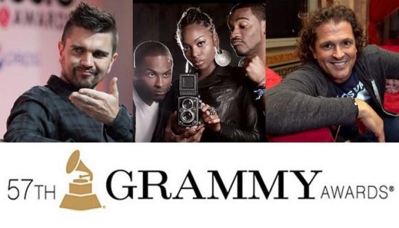 Cartas colombianas en los Grammy