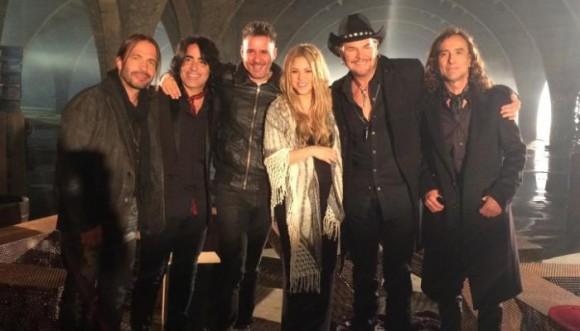 Maná estrena Mi Verdad junto a Shakira