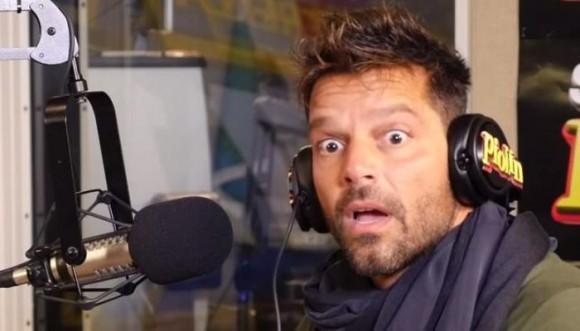 Una broma puso a Ricky contra la pared
