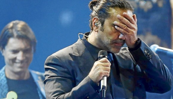 Alejandro Fernández dejó hasta la rabia en Viña
