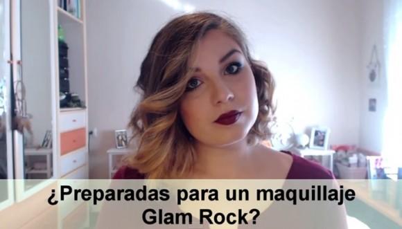 Maquíllate con un look rockero glam