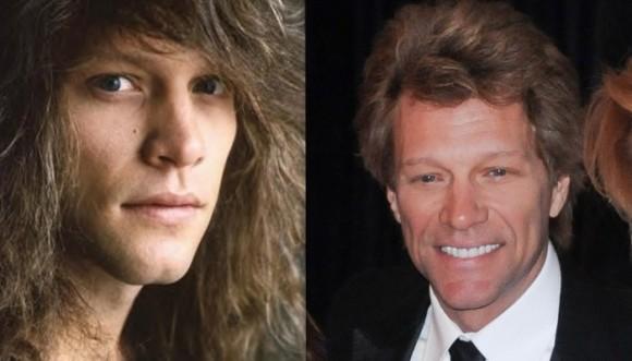 Jon Bon Jovi: ¿Joven mechudo o maduro canoso?