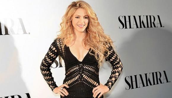 Shakira negó una foto a actor argentino
