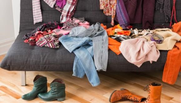 Tiempo perfecto para cambiar zapatos, pantalón y otras prendas