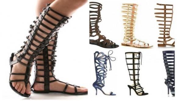 ¿Ya tienes tus sandalias gladiadoras?
