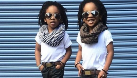 Niños que visten mejor que nosotros