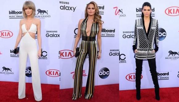 Ellas llevan los pantalones en la alfombra roja de los Billboard 2015