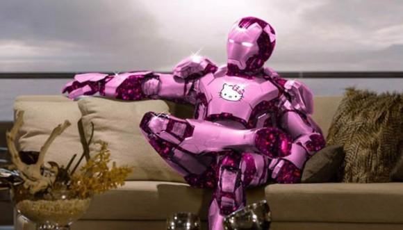 Así se verían los Avengers si sus trajes fueran de Hello Kitty