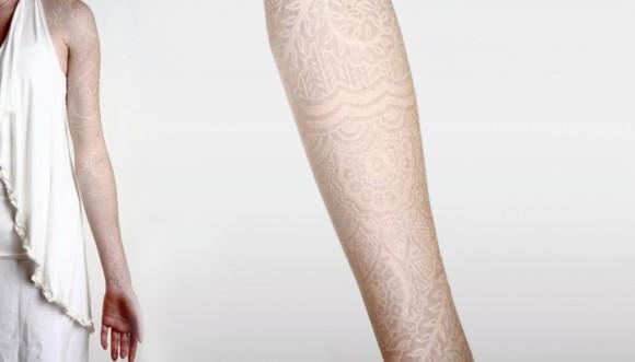 Tatuajes blancos: los diseños más femeninos