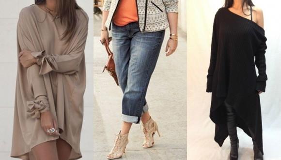 Usar ropa de tallas más grandes está de moda