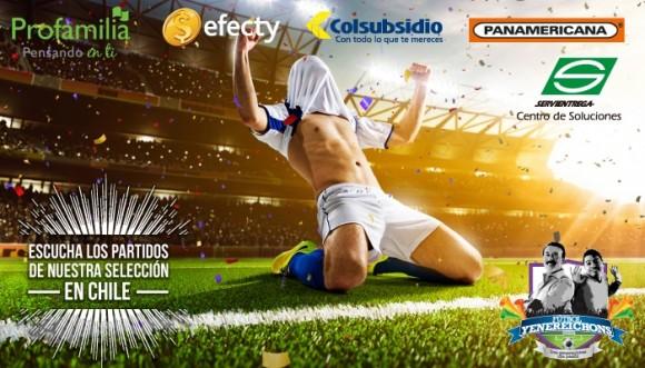 Fútbol Yenereichons te trae los partidos de la Selección Colombia