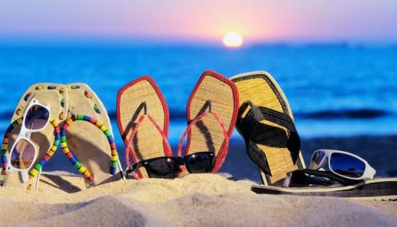 Chancletas o sandalias japonesas para vacaciones