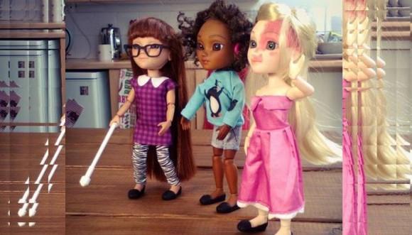 Conoce a las muñecas contra la discriminación