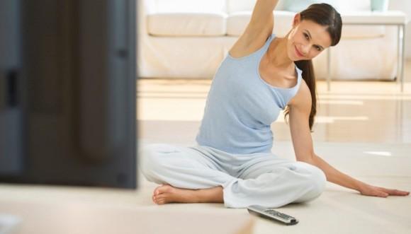 Ejercicios para hacer mientras miras televisión