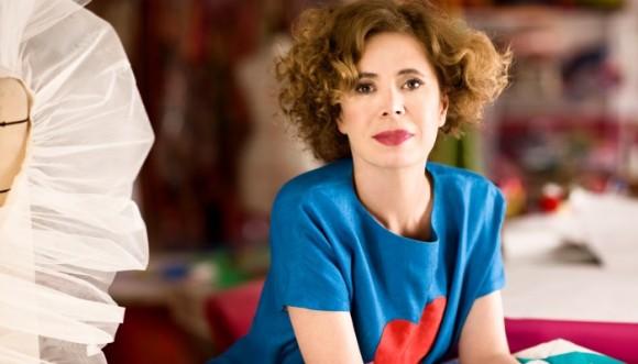 El maquillaje más colorido de Agatha Ruiz de la Prada