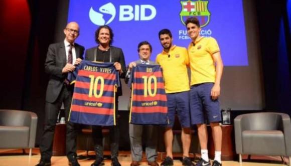 Carlos Vives ahora hace parte del Barcelona FC