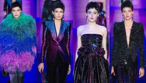 Giorgio Armani le pone color a la noche con sus diseños