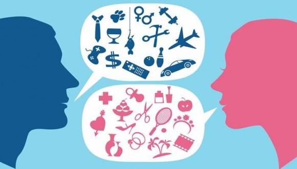 """""""Hablar"""" y otras cosas con significados distintos para hombres y mujeres"""