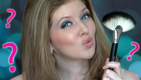 ¿Para qué sirven las brochas raras de maquillaje?