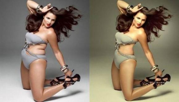 Celebridades antes y después del Photoshop (Galería)
