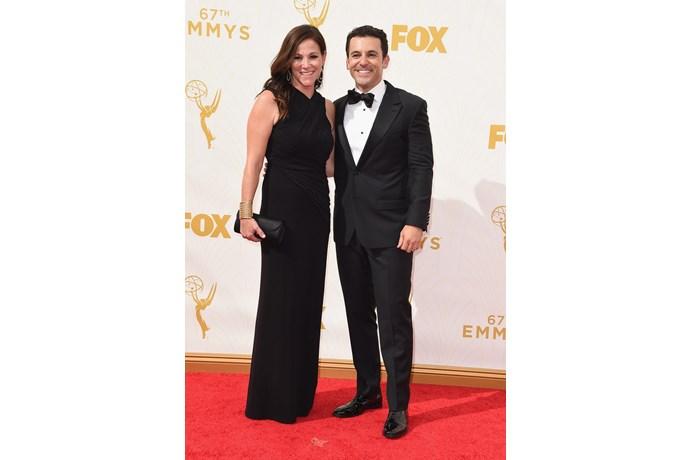 Fred Savage y Jennifer Lynn Stone