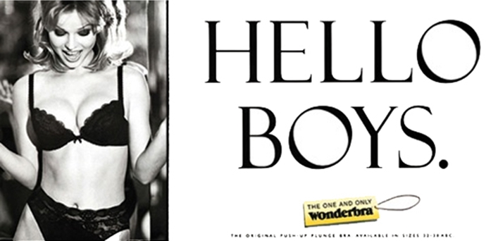 hello boys wonderbra ad 90s