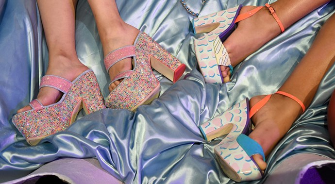 sophia webster shoes spring 2016 london fashion week presentation 24