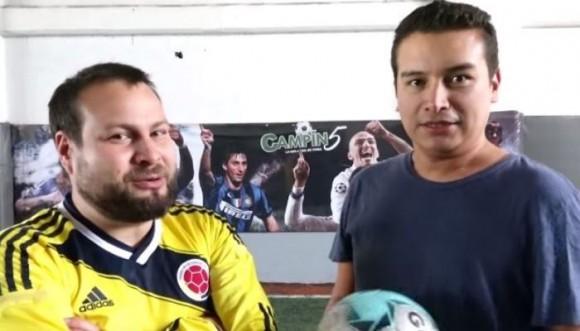 Los Retrotubers ahora juegan fútbol