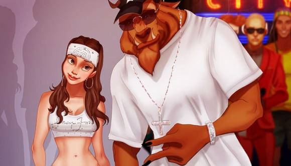Así se ven Jennifer Lopez, y otras artistas, dibujadas por Disney
