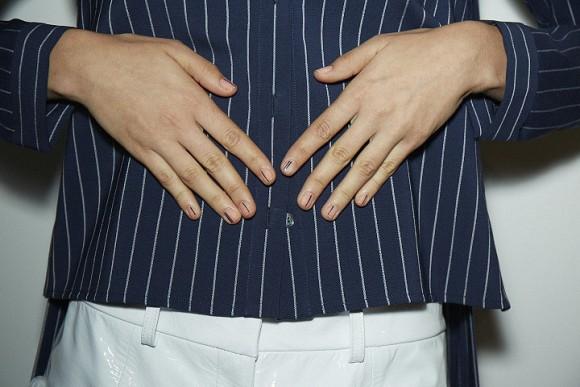 ¿Que nadie le mira las uñas a las modelos?