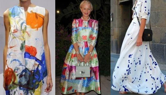 Mamarrachos en los vestidos se ponen de moda