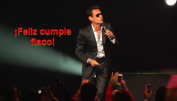 ¿Qué canción de Marc Anthony, hoy de cumpleaños, es la más inspiradora?